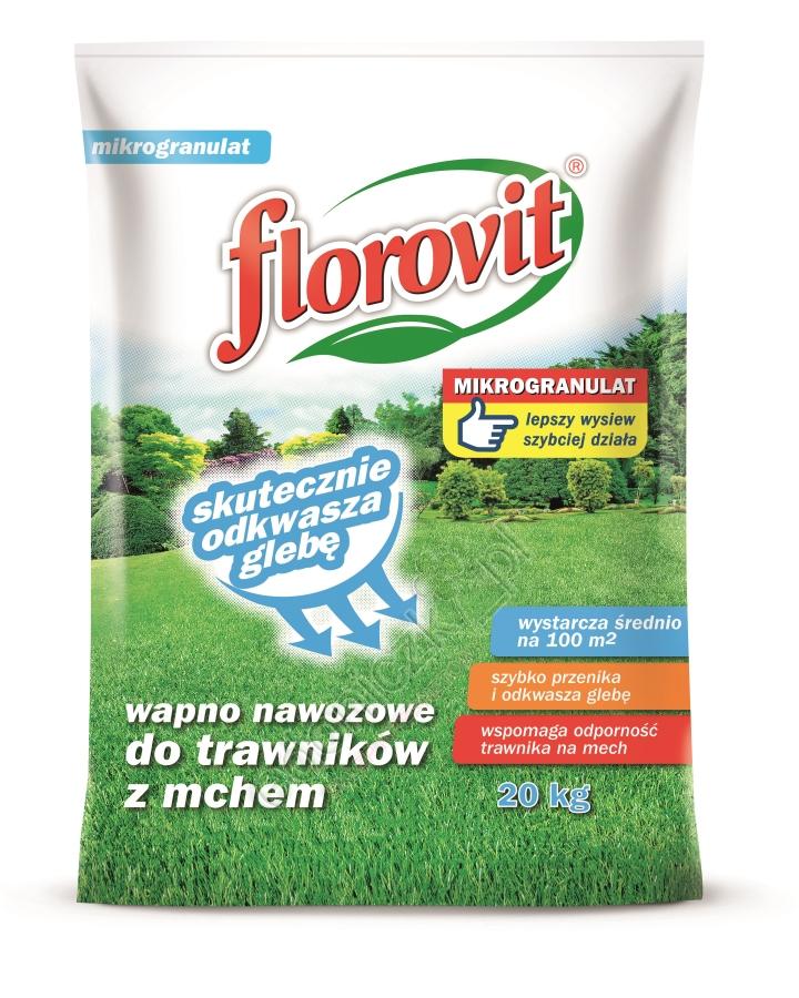 Wapno Nawozowe Do Trawników Z Mchem Mikrogranulat